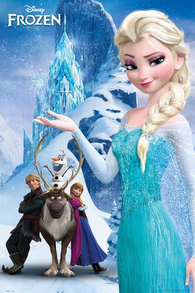 Plakát Ledové království - Mountain