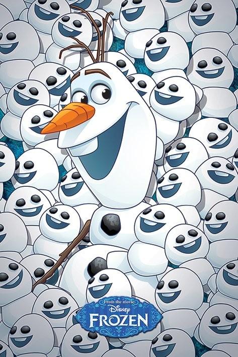 Plakát Ledové království - Olaf
