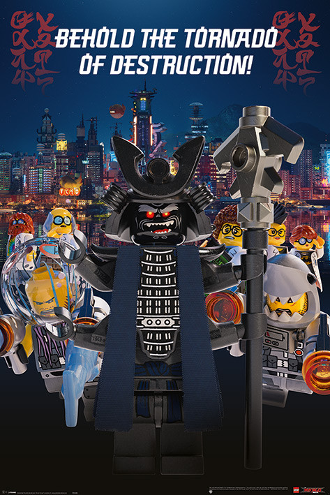 Plakat Obraz Lego Ninjago Movie Garmadon Destruction Kup Na