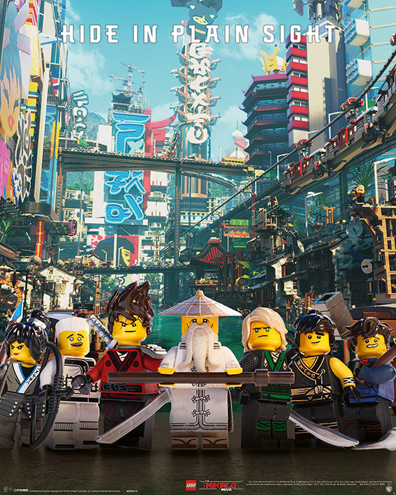Plakat Obraz Lego Ninjago Movie Hide In Plain Sight Kup Na