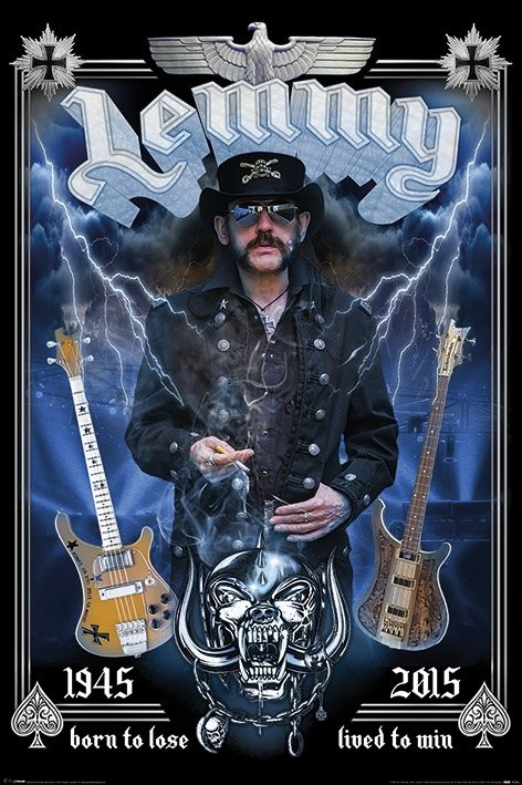 Plakát Lemmy - Commemorative