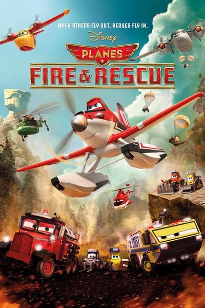 Plakát Letadla 2: Hasiči a záchranáři - Disney Action