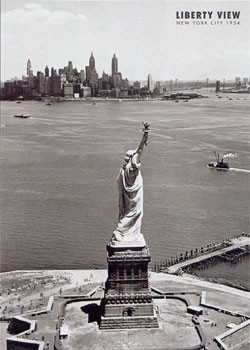 Plakat Liberty view - Statue of liberty