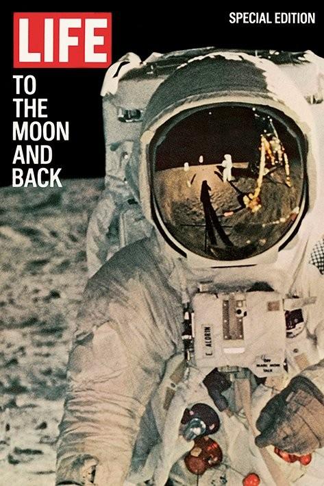 Plakát Life - Na Měsíc a zpět