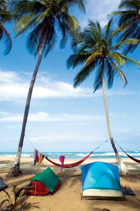 Plakat Life's a beach