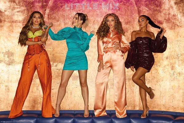 Plakát Little Mix - Bold