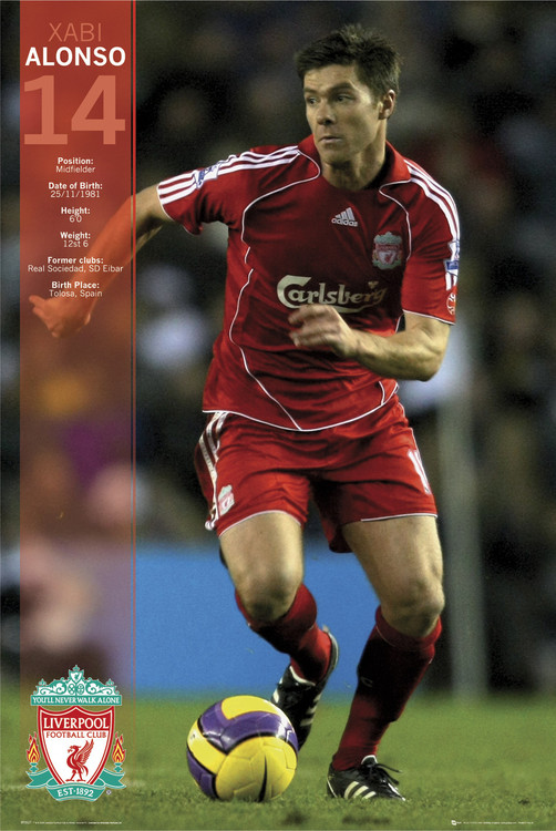 Plakat Liverpool - alonso 07/08