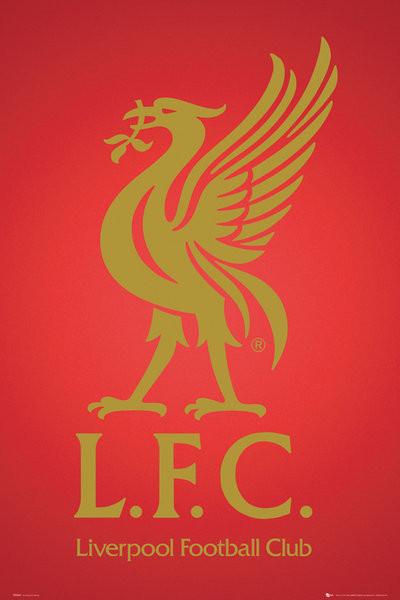 Plakát Liverpool - club crest 2013