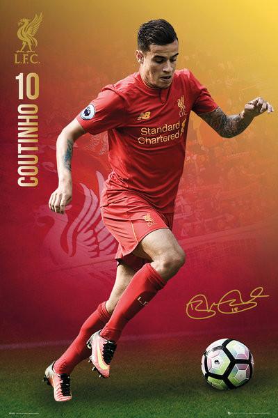 Plakát Liverpool - Coutinho 16/17