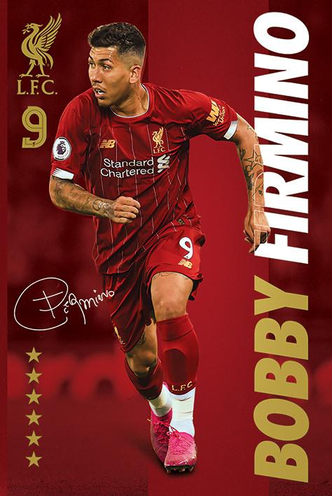 Plakát Liverpool FC - Bobby Firmino