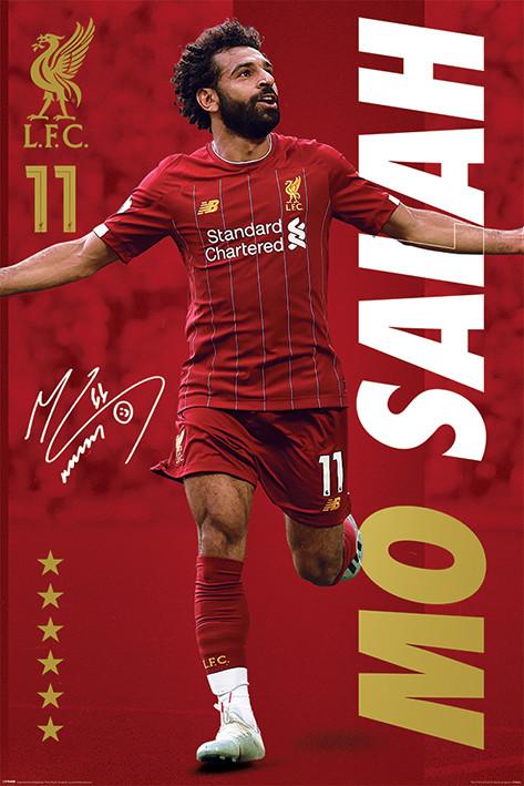 Plakát Liverpool FC - Mo Salah