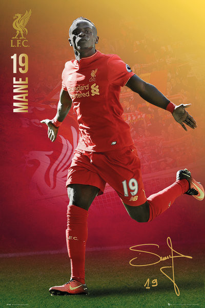 Plakat Liverpool - Mane 16/17