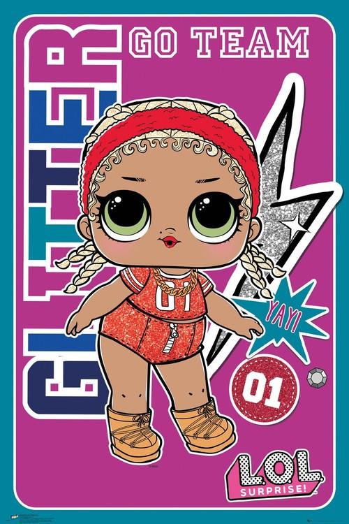Plakát LOL Surprise - Team Glitter