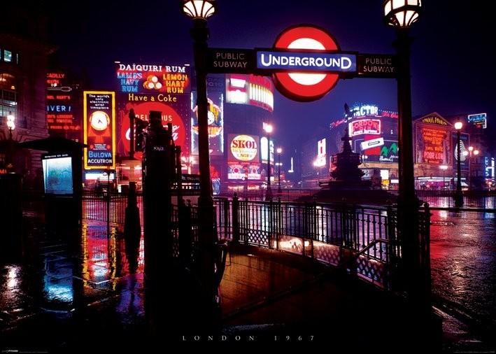 Plakát Londýn 1967