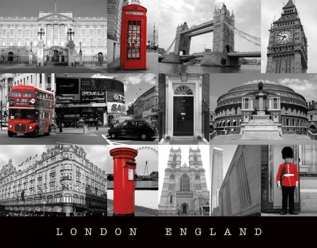 Plakát  Londýn - england