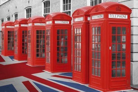 Plakat Londýn