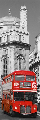 Plakát Londýn - red bus