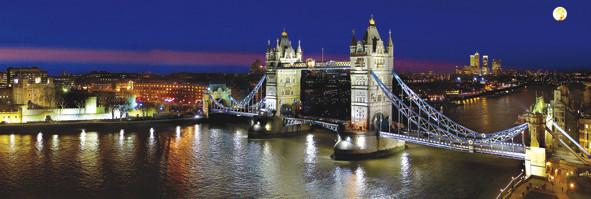Plakát Londýn – tower reichold