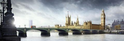 Plakát Londýn - westminster bridge