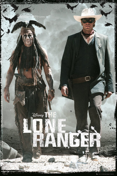 Plakát LONE RANGER - teaser