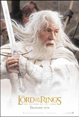 Plakat LORD OF THE RINGS - gandalf 2