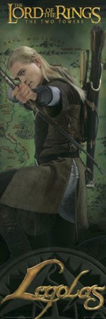 Plakat LORD OF THE RINGS - legolas