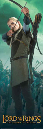 Plakat LORD OF THE RINGS - legolas new