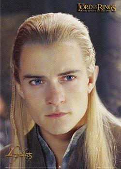 Plakat Lord of the Rings - Legolas portrait