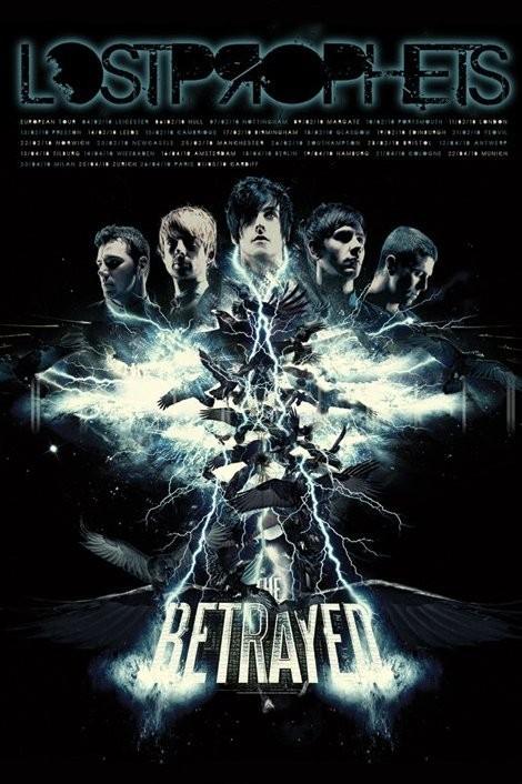 Plakát Lostprophets - the betrayed