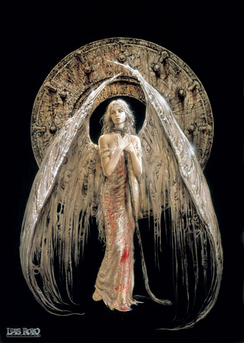 Plakat Luis Royo - white angel