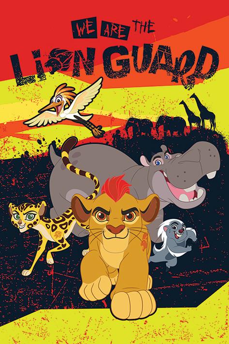 Plakát  Lví hlídka - We Are