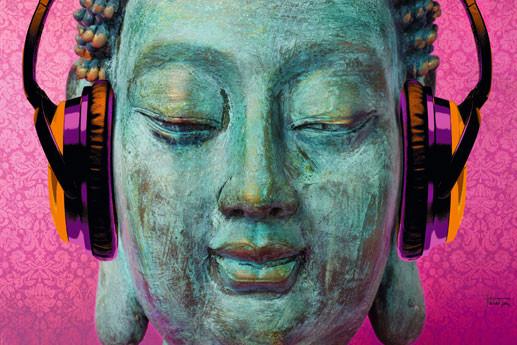 Plakat M. Tarin - buddha music chill