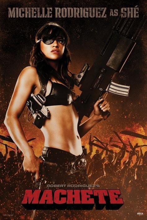 Plakát MACHETE - she