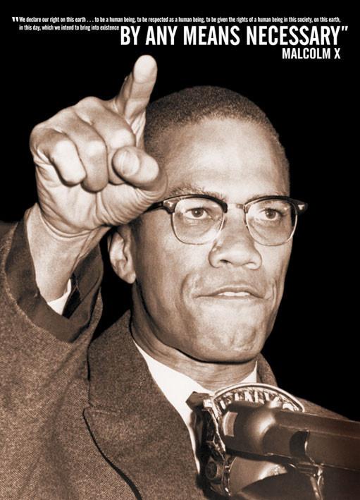 Plakát Malcolm X