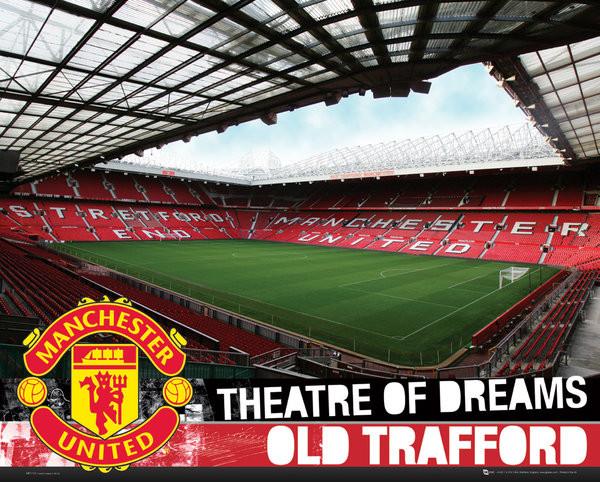 Plakát Manchester United FC - Inside Old Trafford S.O.S