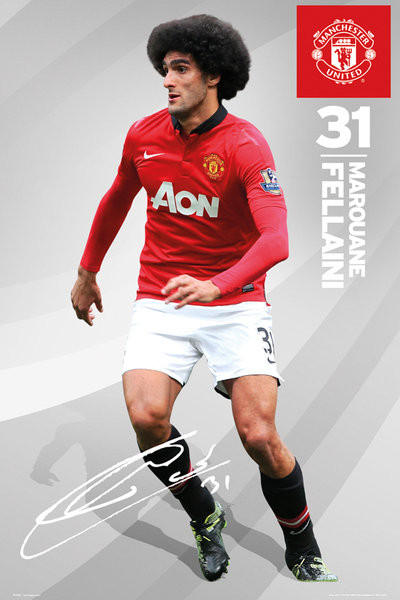 Plakát Manchester United - fellaini 13/14
