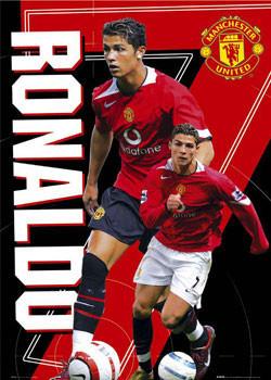 Plakat Manchester United - Ronaldo 7