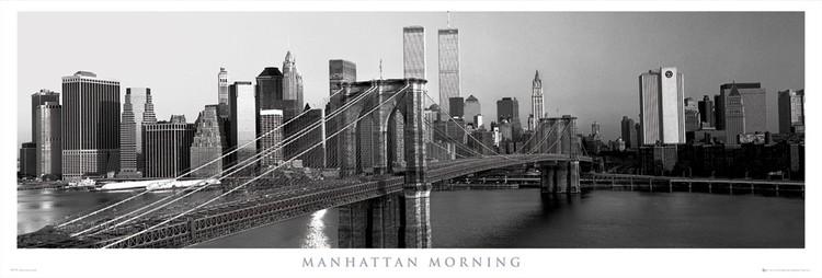 Manhattan - morning  plakát, obraz