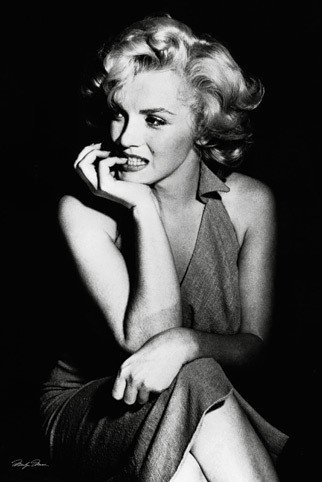 Plakat Marilyn Monroe - sitting
