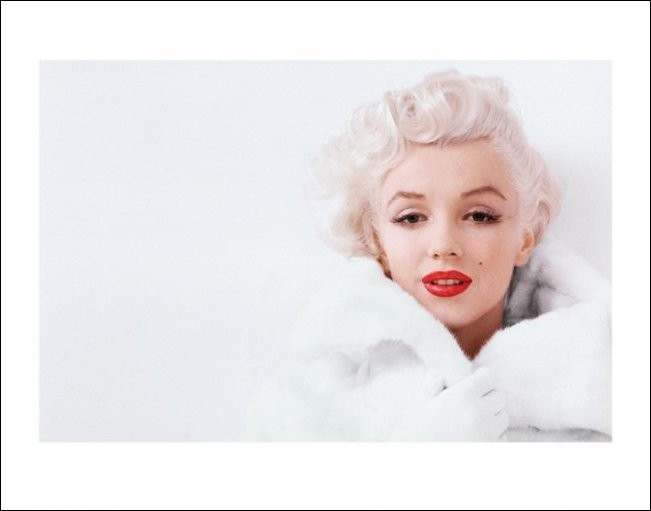 Reprodukcja Marilyn Monroe - White