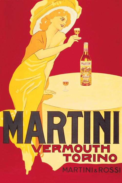 Plakát Martini vermouth torino
