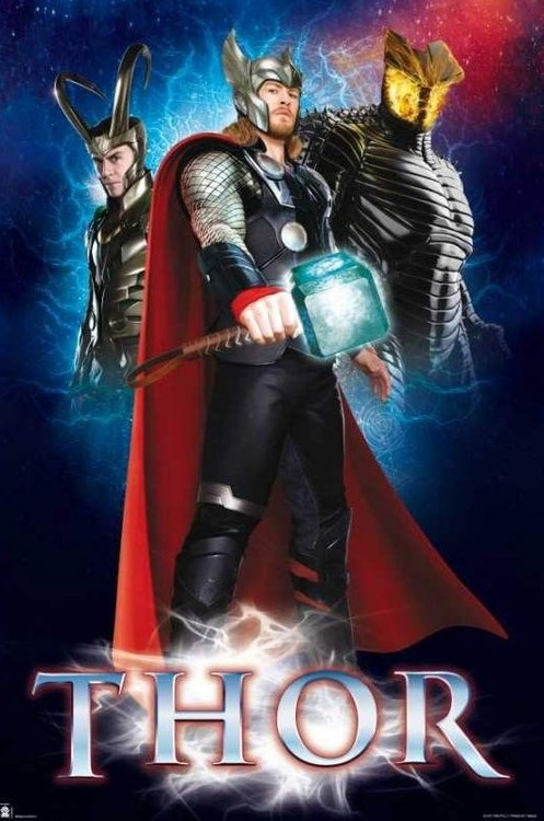 Plakat Marvel - Thor