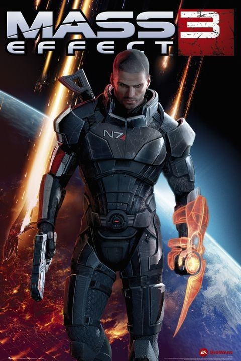 Plakat Mass Effect 3