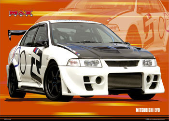 Plakat Max power - evo