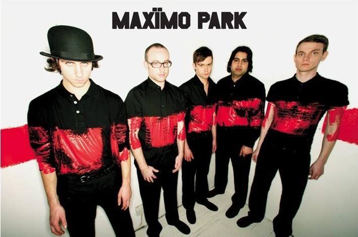 Plakat Maximo park - paint