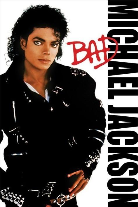 Plakat Obraz Michael Jackson Bad Kup Na Posterspl