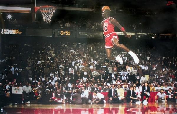 Plakat Michael Jordan - Slam Dunk Contest