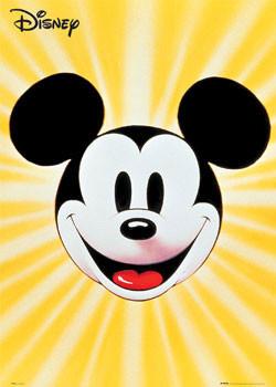 Plakát MICKEY MOUSE - obličej