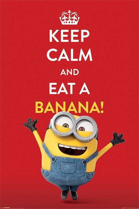 Plakat Minionki (Despicable Me) - Keep Calm
