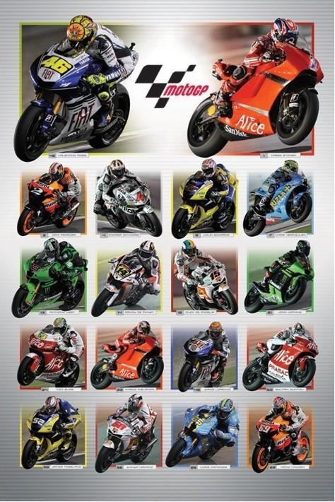 Plakát Moto GP - riders